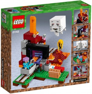 LEGO Minecraft™ 21143 Portal do Netheru