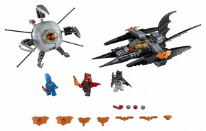 LEGO® DC Comics™ Super Heroes 76111 Batman™: pojedynek z Brother Eye™