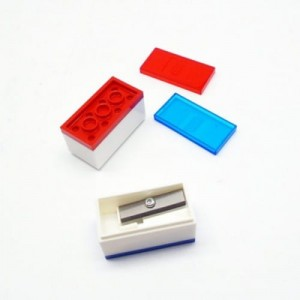 LEGO 51496 Pencil Sharpeners – 2 pcs (Temperówki – 2 szt.)