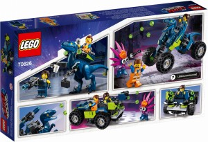 THE LEGO® MOVIE 2™ 70826 Terenówka Rexa
