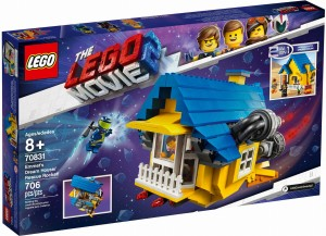 THE LEGO® MOVIE 2™ 70831 Dom Emmeta/Rakieta ratunkowa