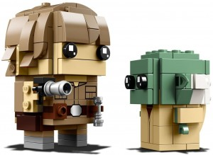 LEGO® BrickHeadz 41627 Luke Skywalker™ i Yoda™