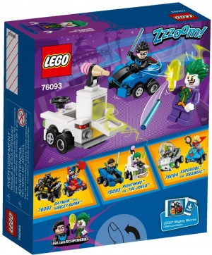 LEGO DC Comics™ Super Heroes 76093 Nightwing™ vs. The Joker™
