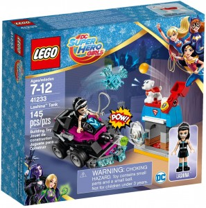 LEGO DC Super Hero Girls 41233 Lashina™ i jej pojazd