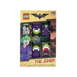 LEGO Batman Movie 8020851 zegarek z minifigurką Jokera