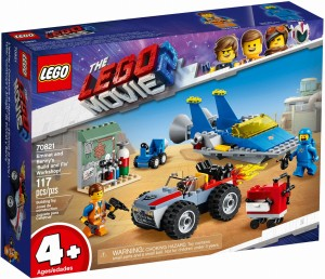 THE LEGO® MOVIE 2™ 70821 Warsztat Emmeta i Benka
