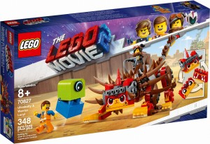 THE LEGO® MOVIE 2™ 70827 UltraKocia i Lucy Wojowniczka