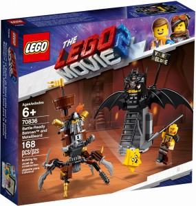 THE LEGO® MOVIE 2™ 70836 Batman™ i Stalowobrody
