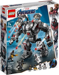 LEGO®  Marvel Super Heroes 76124 Pogromca War Machine