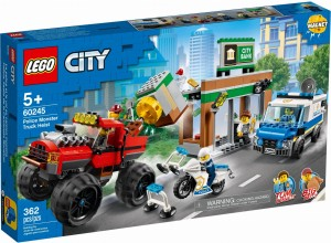 LEGO® City 60245 Napad z monster truckiem
