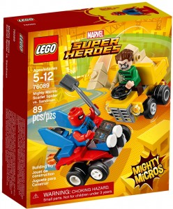 LEGO Marvel Super Heroes 76089 Spider-Man vs. Sandman