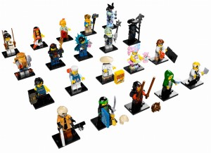 LEGO® NINJAGO® MOVIE™ 71019  - komplet 20szt