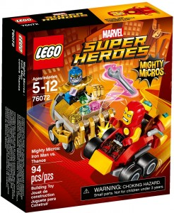 LEGO Marvel Super Heroes 76072 Iron Man kontra Thanos