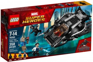 LEGO Marvel Super Heroes 76100 Atak myśliwca Royal Talon Fighter