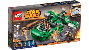 LEGO Star Wars 75091 Flash Speeder