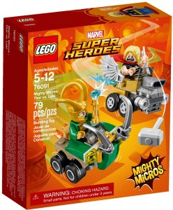 LEGO Marvel Super Heroes 76091 Thor vs. Loki