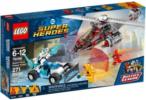 LEGO DC Comics™ Super Heroes 76098 Lodowy superwyścig